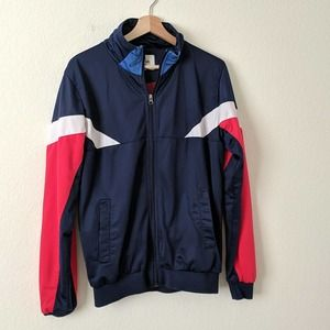 BellField Track Jacket Bomber Mens Medium Retro